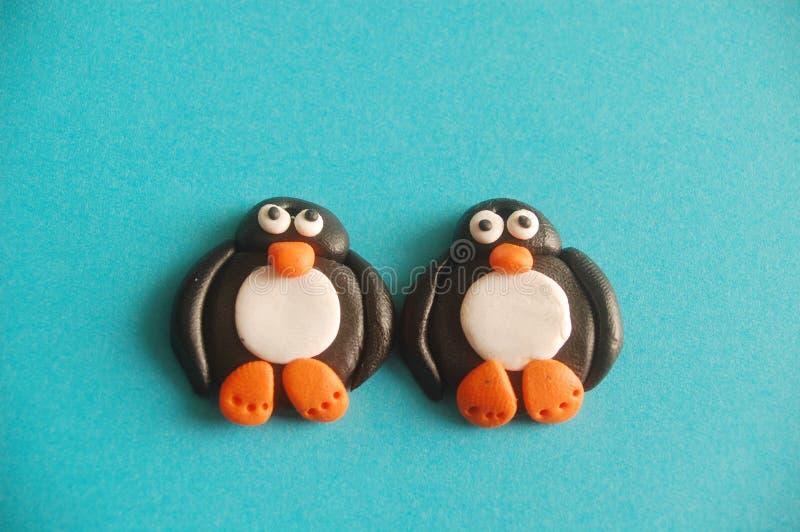 Pinguïnen royalty-vrije stock foto's
