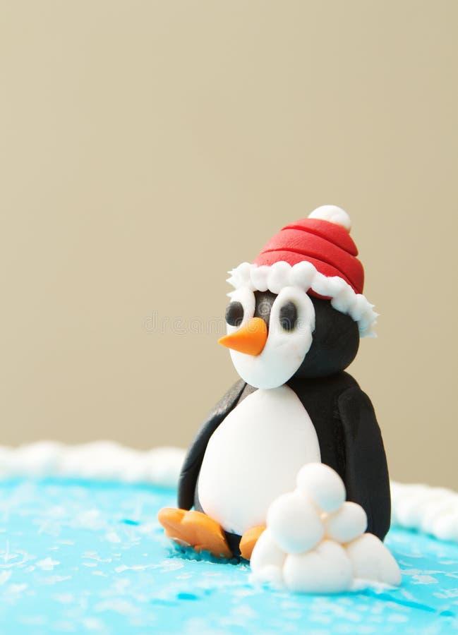 Pinguim Art Sculptures fotografia de stock royalty free