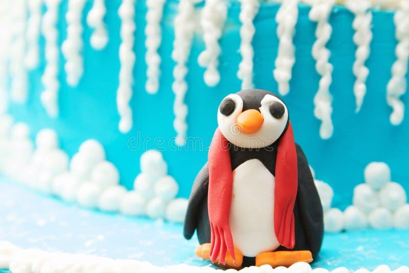 Pinguim Art Sculptures fotos de stock royalty free