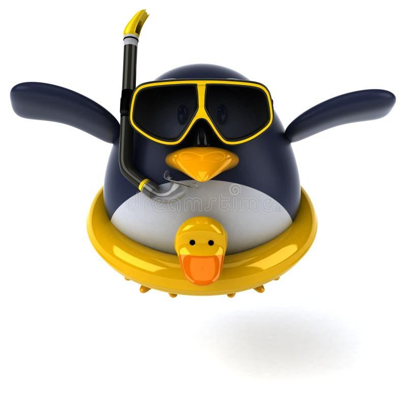 Pinguim do divertimento fotos de stock royalty free
