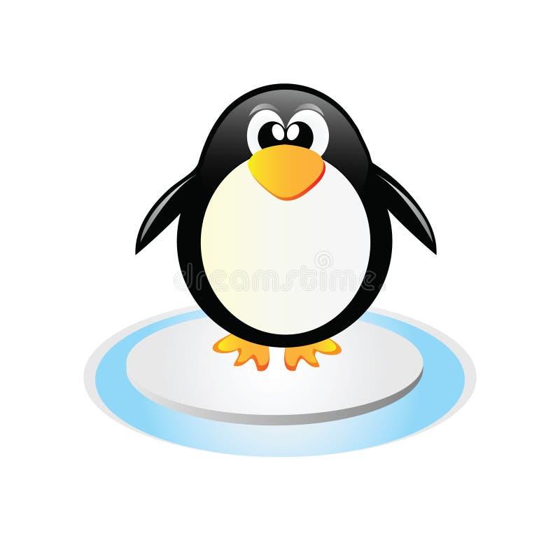 Pinguim do vetor ilustração royalty free
