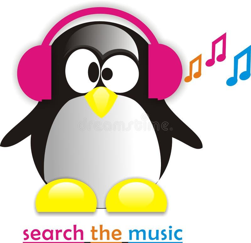 Pinguin-Kunst stockbilder