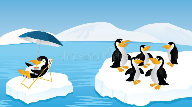 Pinguine stock abbildung