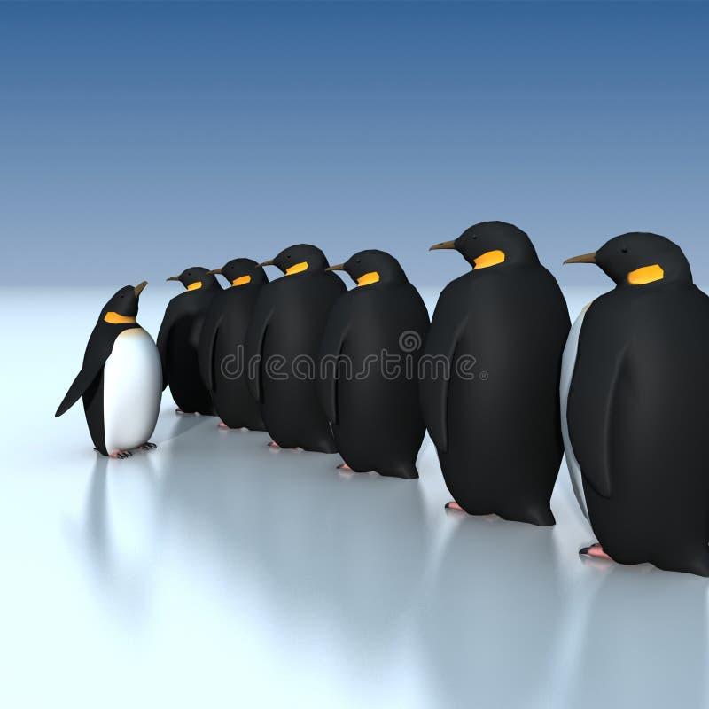 Pinguini illustrazione vettoriale