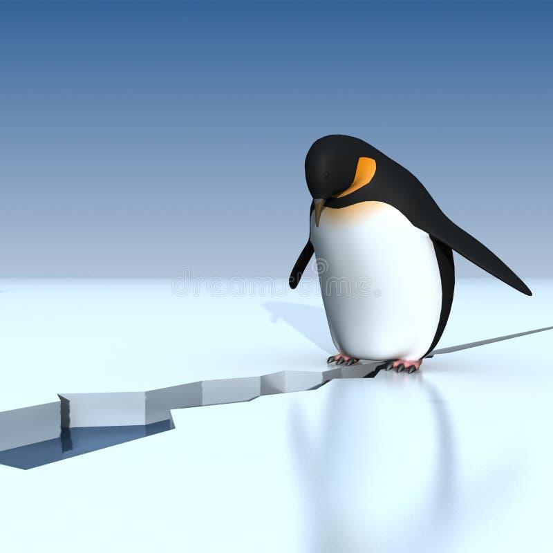 Pinguini royalty illustrazione gratis