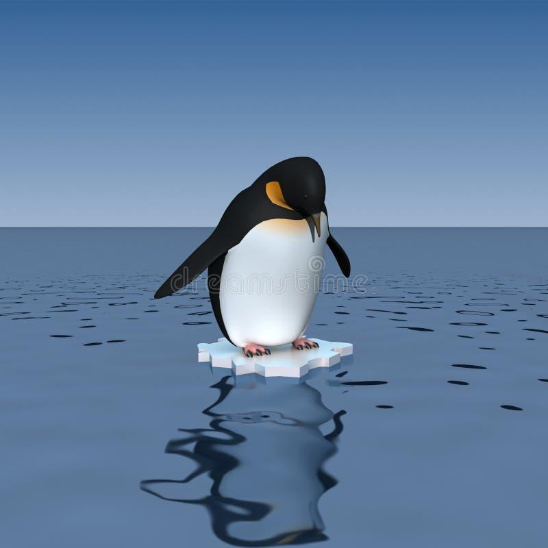 Pinguino illustrazione vettoriale