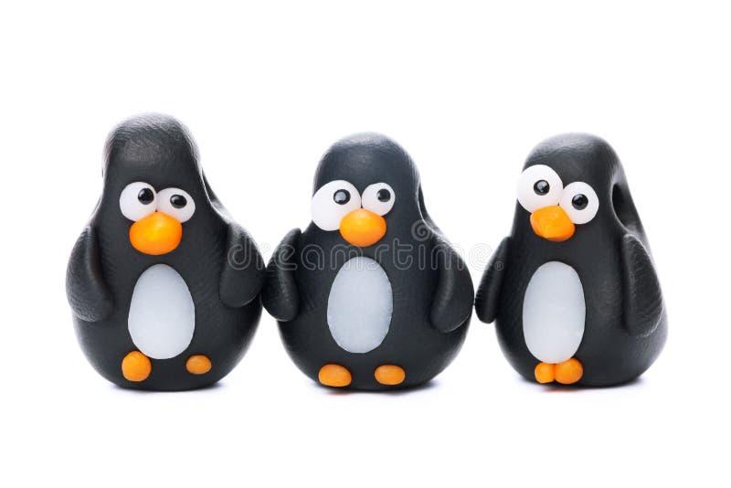 Pinguins стоковые фотографии rf