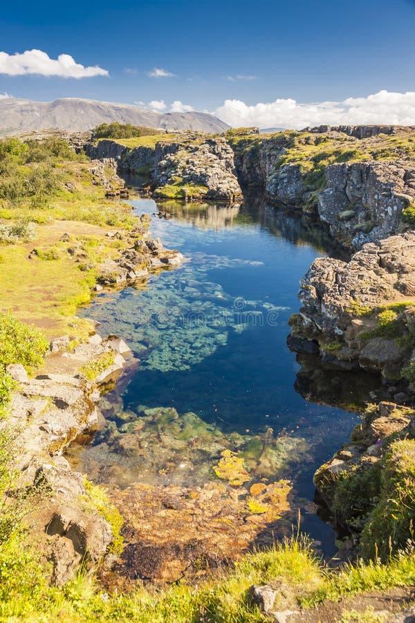 Pingvellir, Islande photos libres de droits