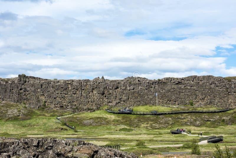 Pingvellir National Park, Iceland stock images