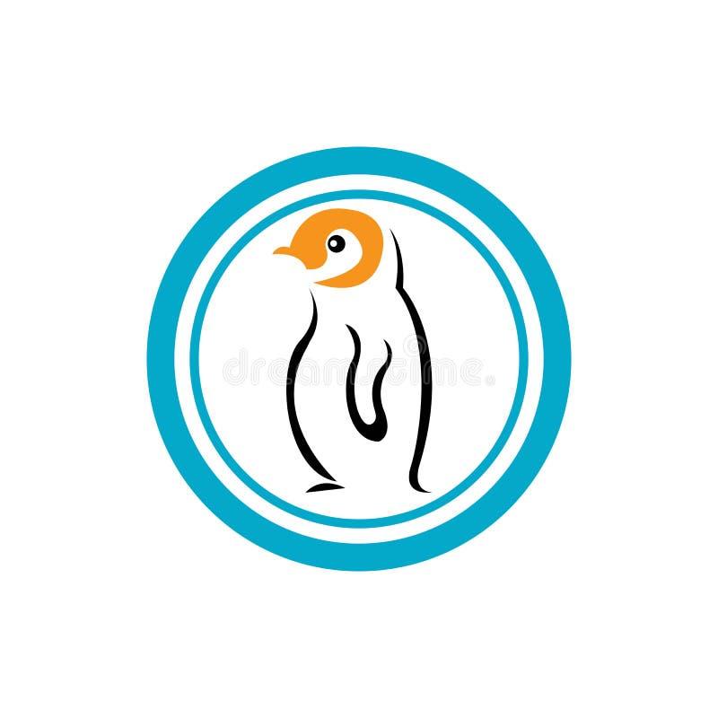 Pingvin royaltyfri illustrationer