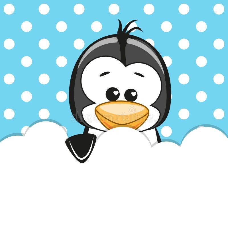 Pingwin ilustracja wektor