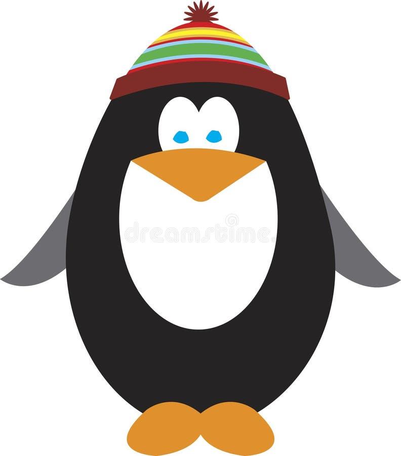 pingwin wakacyjne ilustracji