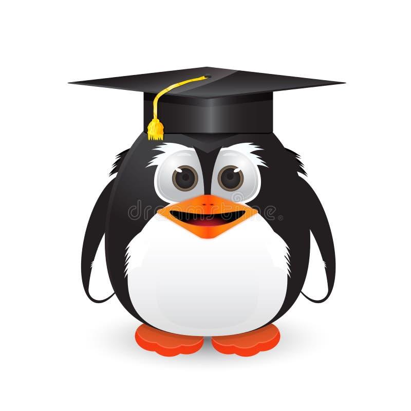 Pingwin z skalowanie nakrętką ilustracji