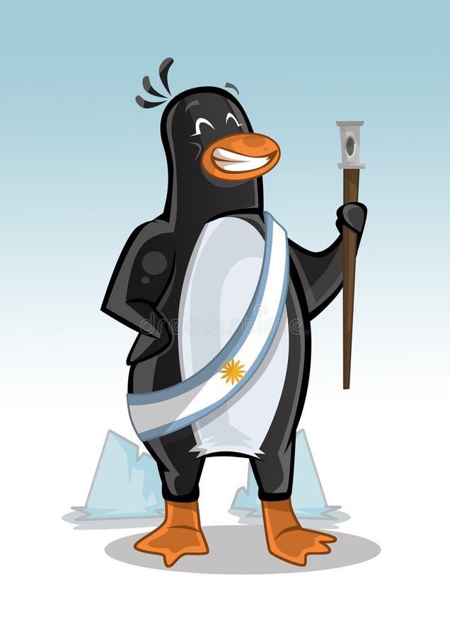 Pingwinu argentyńczyka prezydent fotografia stock