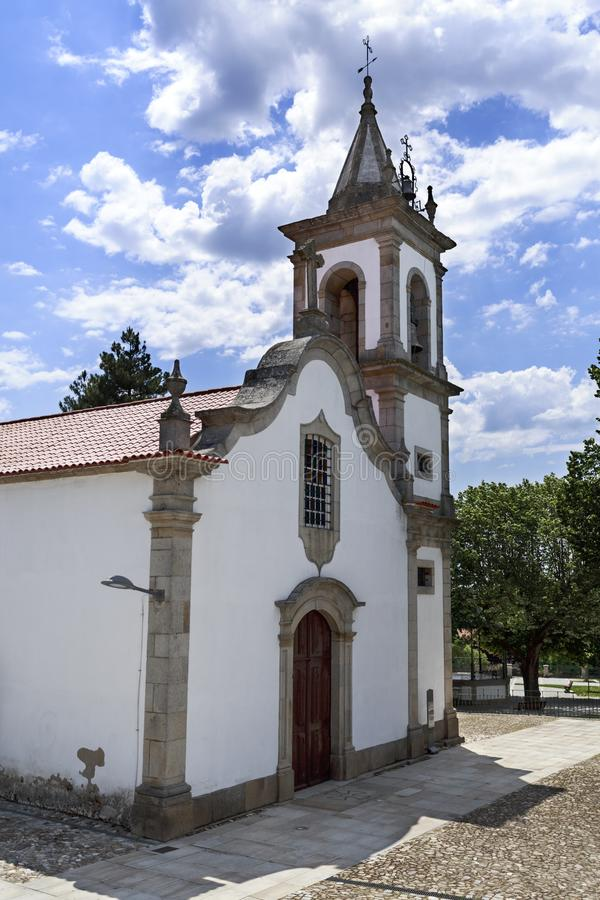 Pinhel †'kościół saint louis obraz stock
