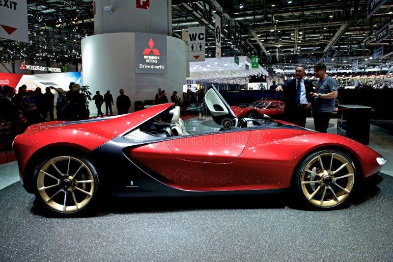 Pininfarina Ferrari Sergio 2014 stock images