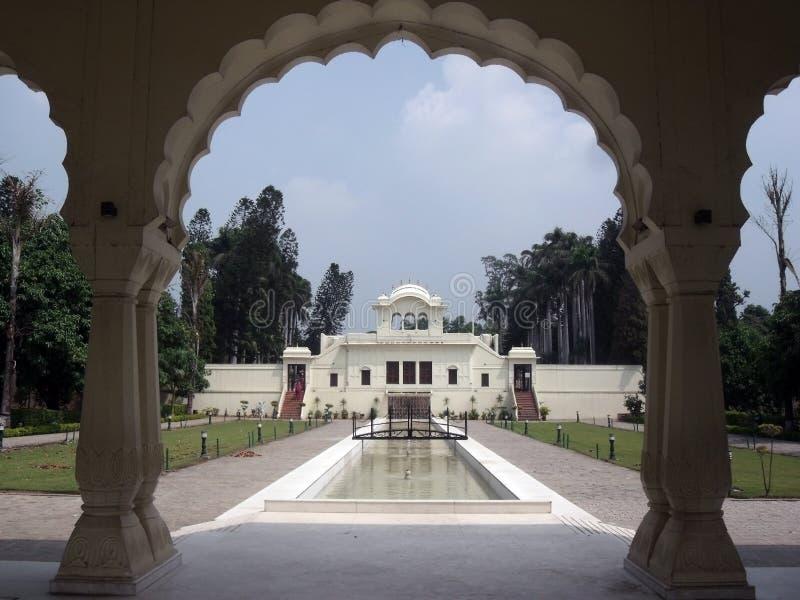 Pinjore Garden. 17th century Mughal style Terrace Garden, Pinjore, Haryana, India, Asia stock photography
