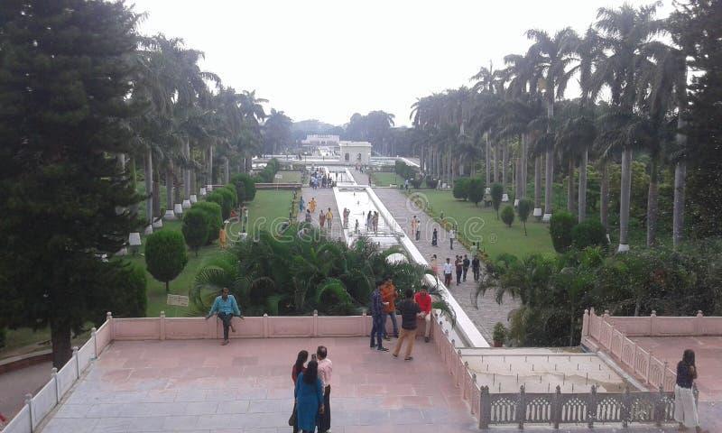 Pinjore Gardens. It is a historic 17th century garden in Haryana, India stock photos