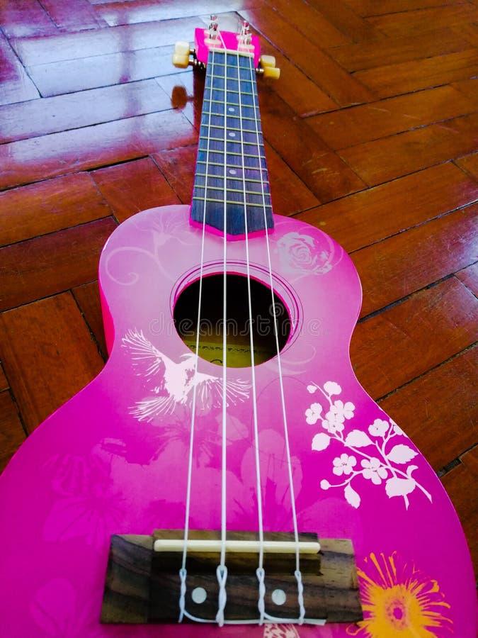 Pink†‹Pink†‹Ukulele στοκ φωτογραφίες