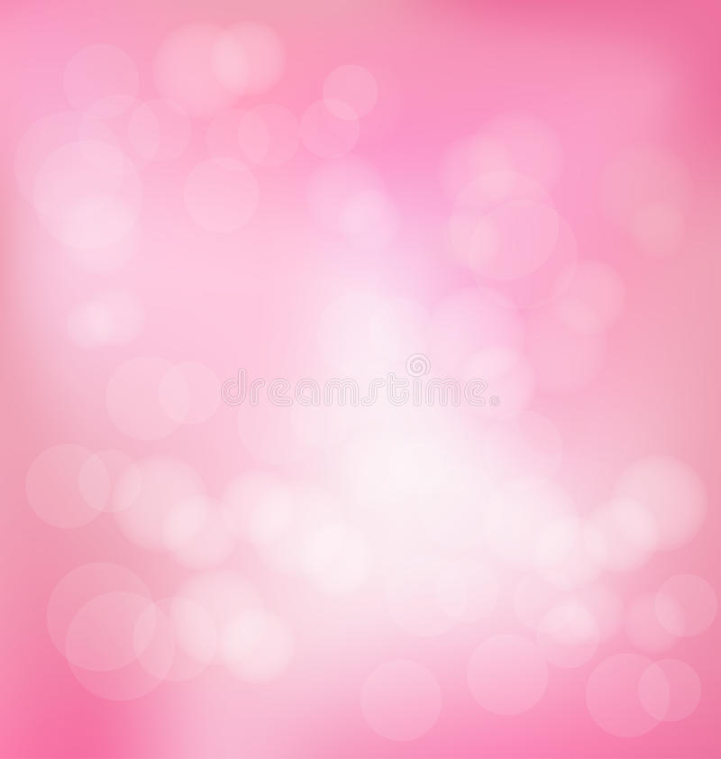 Pink abstract background stock illustration