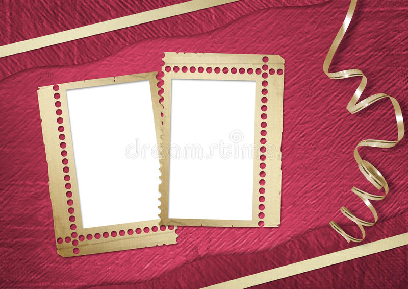Download Pink Abstract Background With Frame Stock Illustration - Image: 11276865