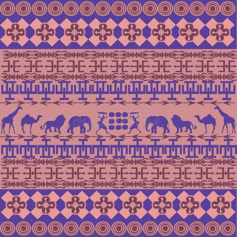 Download Pink African texture stock illustration. Image of natural - 16166806