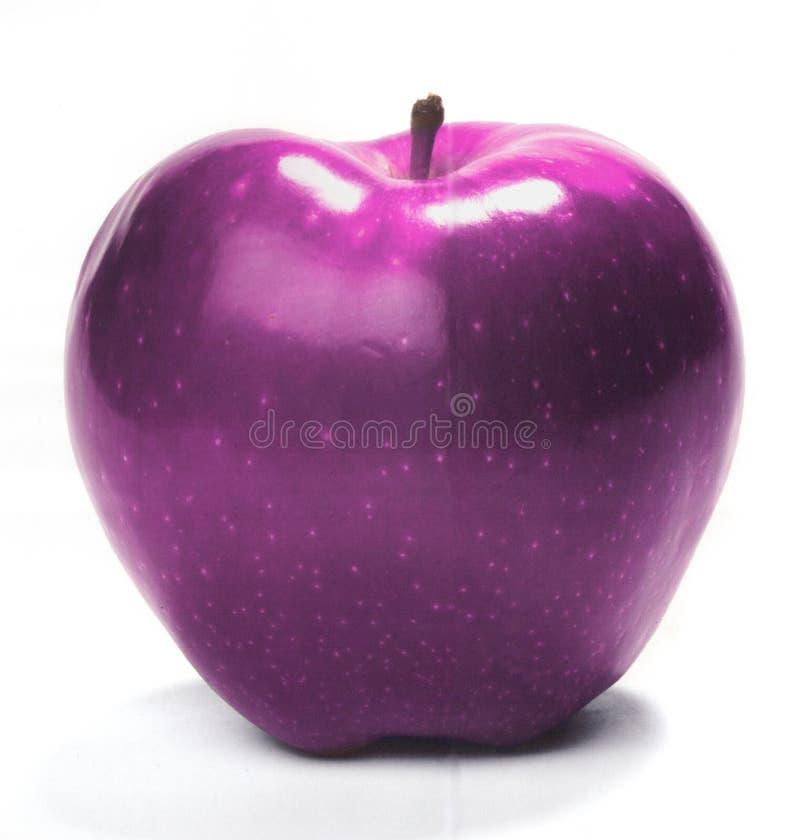 Pink apple stock photo
