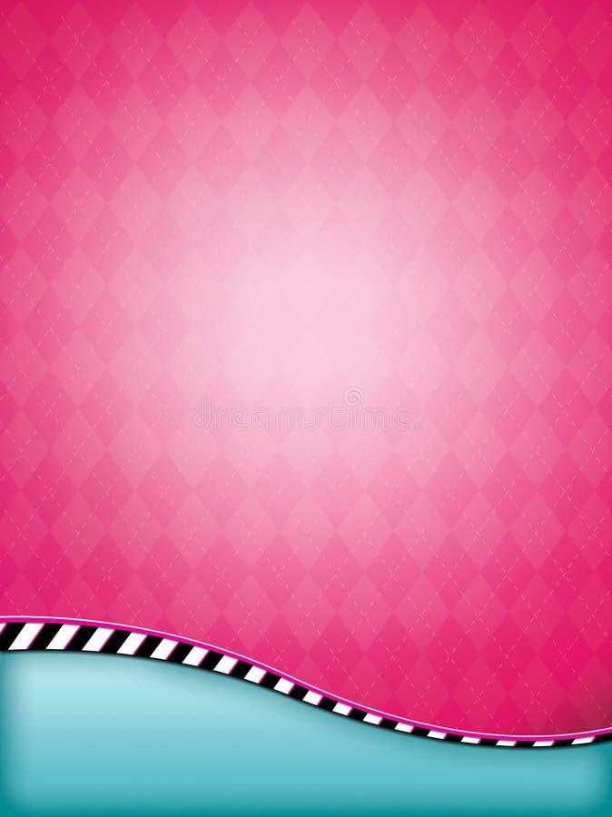 Download Pink Argyle Background stock image. Image of flyer, design - 25725629