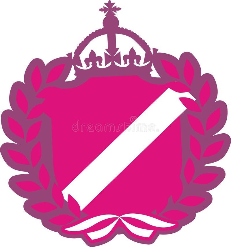 Pink arming vector illustration