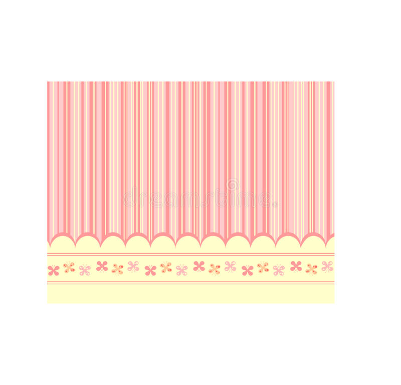 Pink Baby Background Royalty Free Stock Images