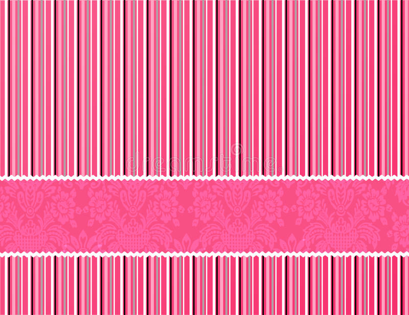 Pink background royalty free illustration
