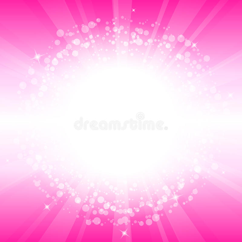 Pink background vector illustration
