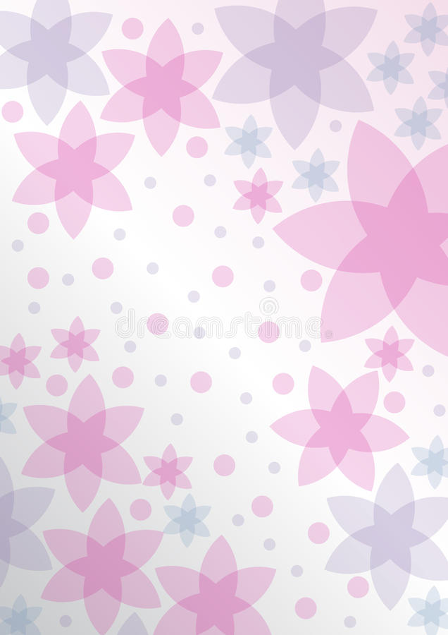 Free Pink Background Floral Royalty Free Stock Photos - 19642738