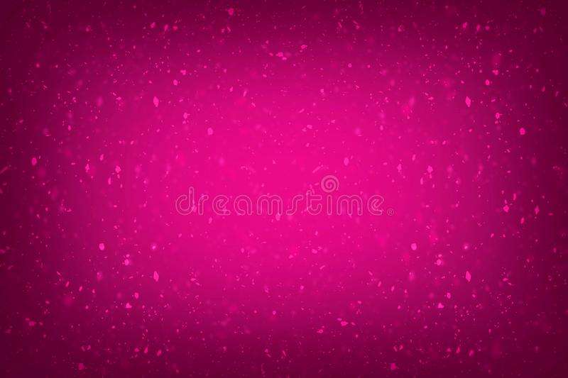 Pink background with glitter effects Rose colour background with gilter texture effects royalty free illustration