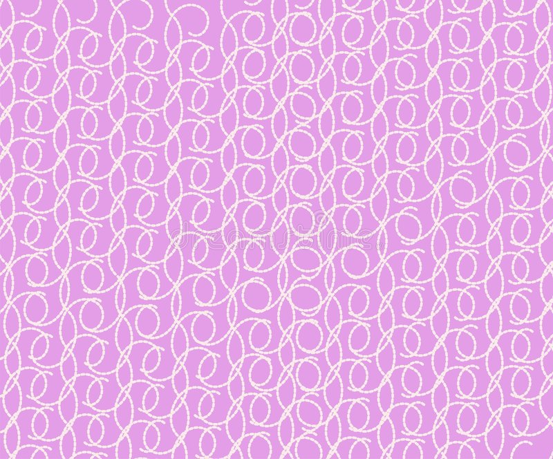 Pink Background With A Graceful Pattern Stock Photo