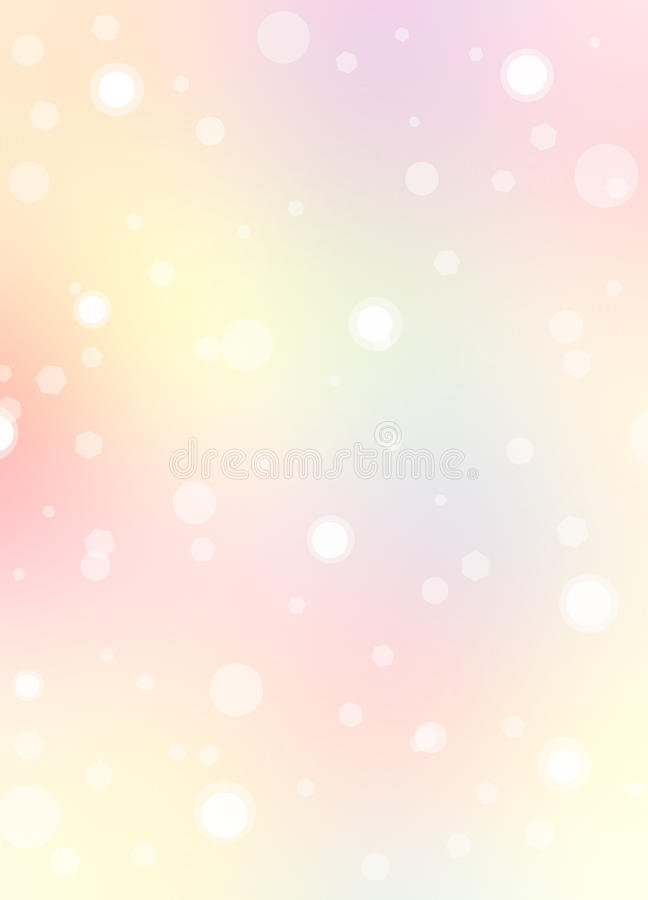 Pink background with pastel royalty free illustration