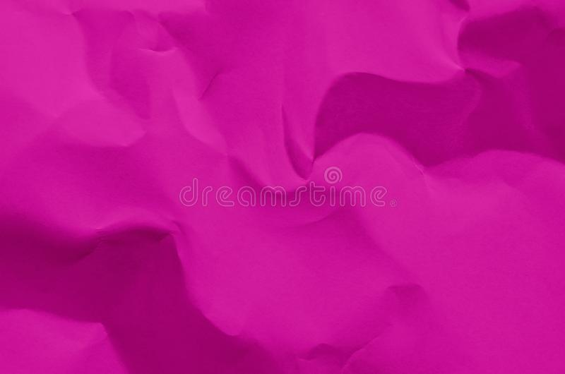 Pink background and wallpaper by crumpled paper texture and free stock photo
