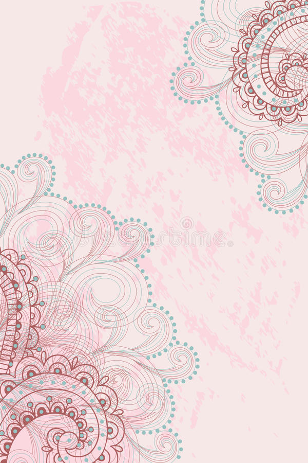 Free Pink Background With Pattern Royalty Free Stock Photography - 40495447