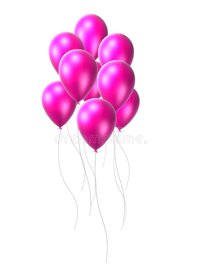Download Pink Balloon Stock Images - Image: 1586814