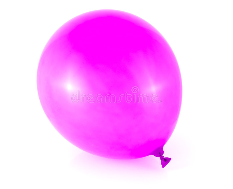 Pink balloon royalty free stock image