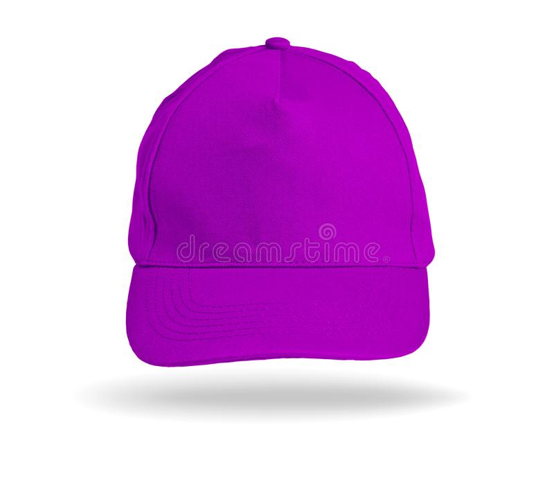 Pink Baseball Cap on a white background. Pink Baseball Cap on a white background stock photos