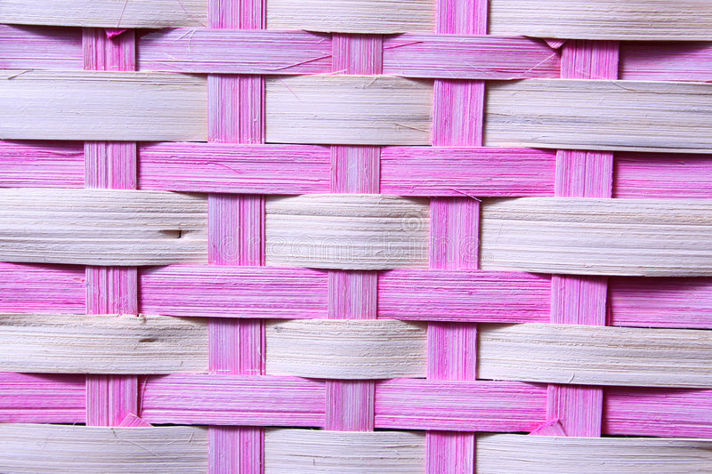 Pink Basket Weave royalty free stock photography