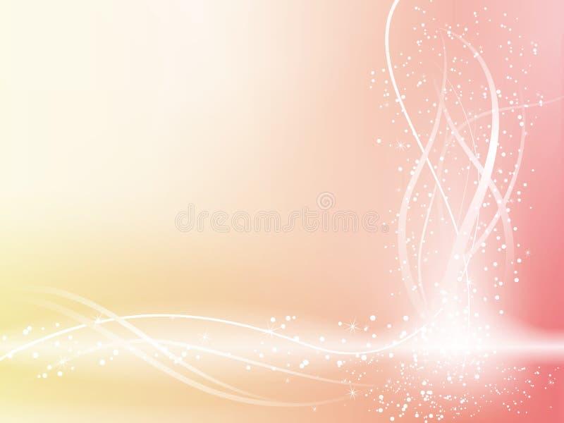 Pink Beautiful Pastel Background royalty free illustration