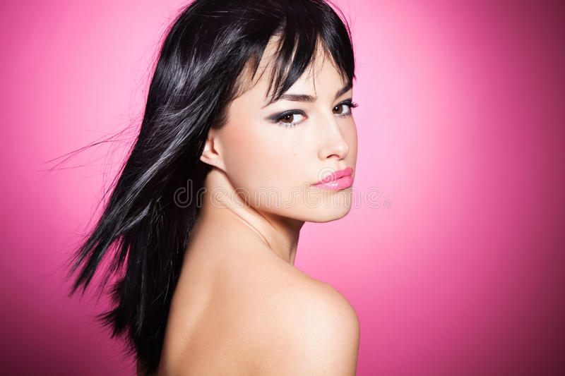 Pink beauty stock images
