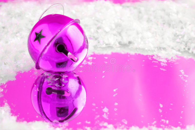 Pink bell stock photo