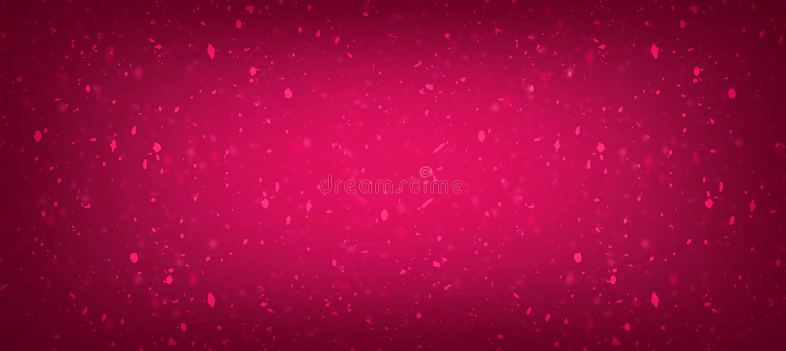 Pink best cinematic gilter effects with Dust picture in gradient for website creation vector illustration