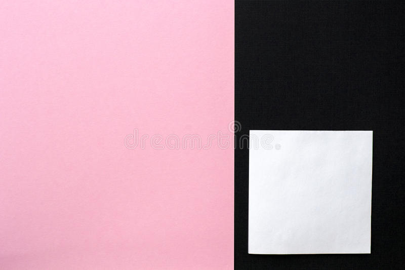 Pink and black textured background with copy space royalty free stock photos