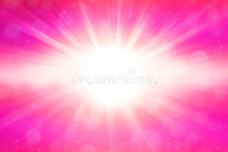 Pink Blast Royalty Free Stock Image