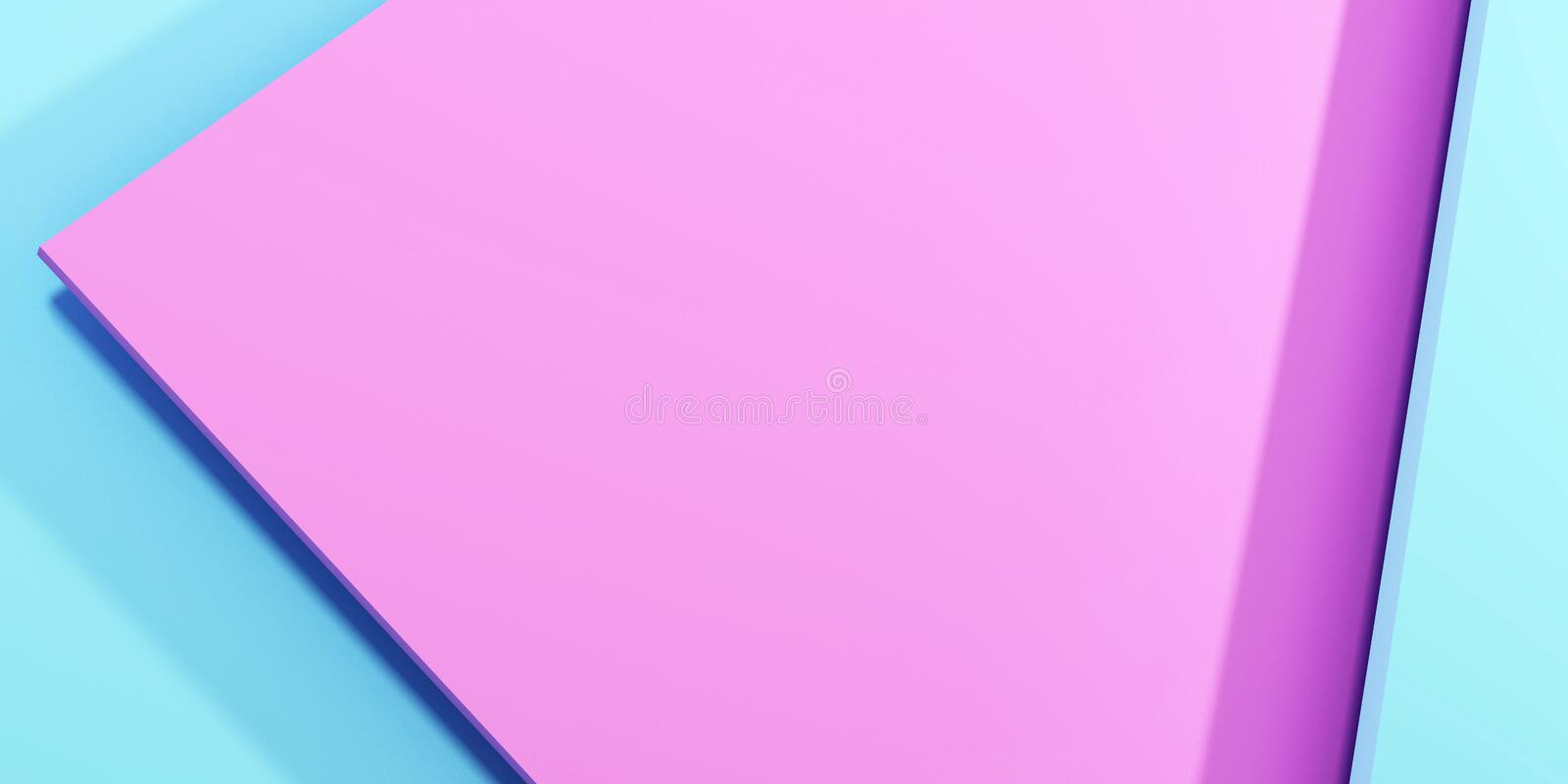 Pink and blue pastel background. vector illustration