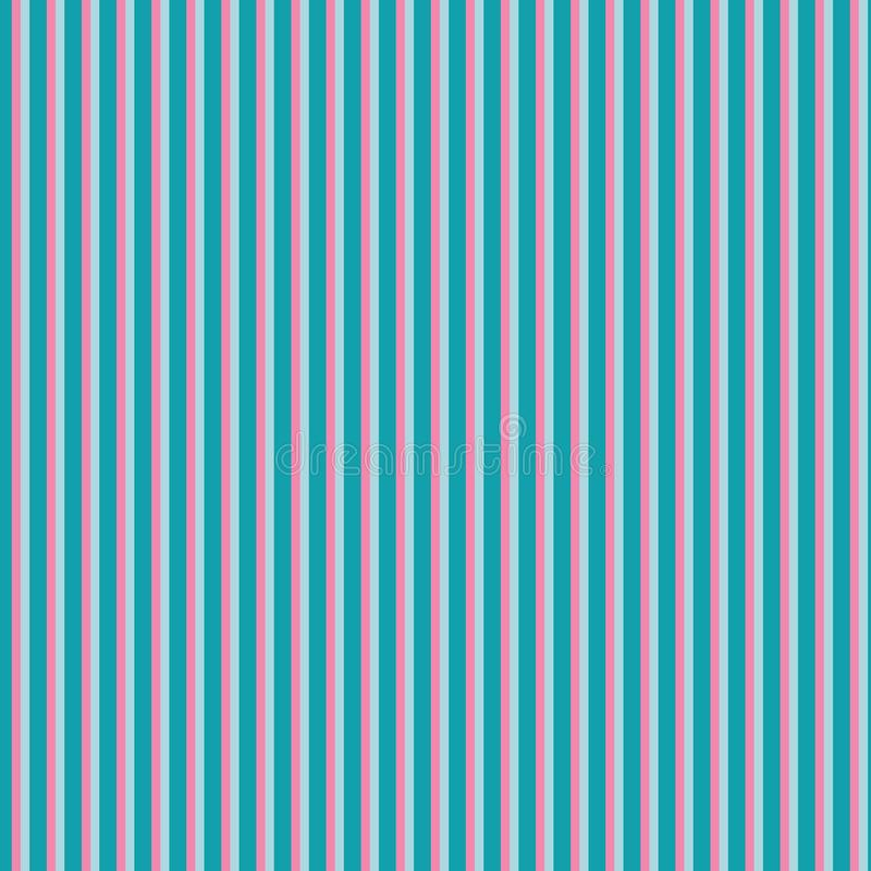 Pink and blue striped seamless pattern design vector illustration